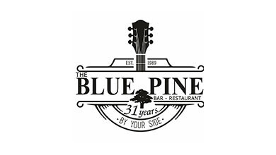The Blue Pine Logo